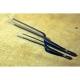 multifunkční zahnutá pinzeta pro kuchaře Dellinger Black 210 mm