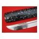 katana Kaigara z uhlíkové oceli AISI 1095 a reálným hamonem