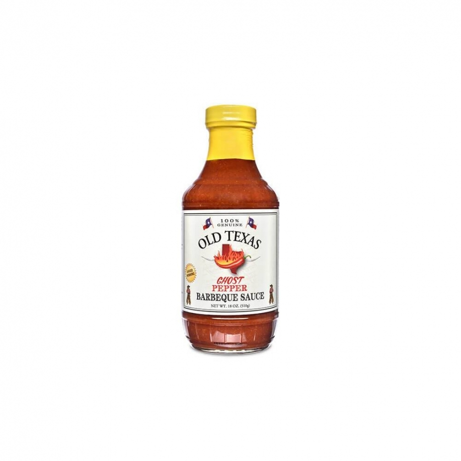 Old Texas BBQ omáčka Ghost Pepper BBQ Sauce 455ml