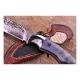 nůž lovecký Dellinger PREDATOR II vg-10 Damascus