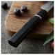 nůž Utility 125 mm Dellinger Octagonal Ebony Wood