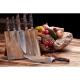 "nůž Santoku 7"" (178mm) Dellinger CLASSIC Sandal Wood"