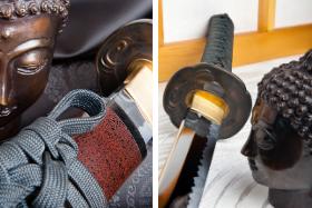Japonské katany, nože a meče...
